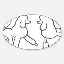 poodles of distinction Decal