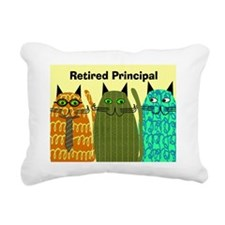 Retired Principal Blanke Rectangular Canvas Pillow