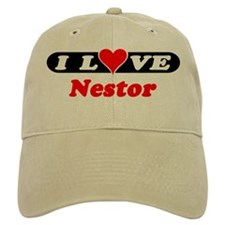 I Love Nestor Baseball Cap