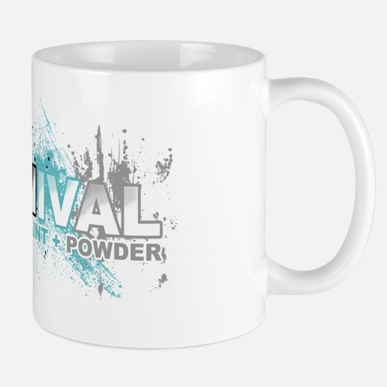 Oil Mud Paint Powder Mug