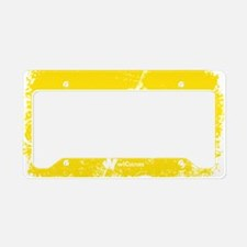 Bajan Original License Plate Holder