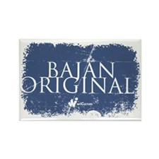Bajan Original Rectangle Magnet