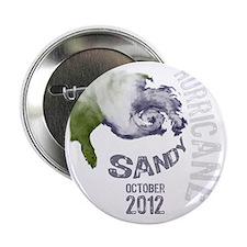 """Hurricane Sandy Cloud white 2.25"""" Button"""