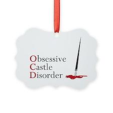 Obsessive Castle Disorder Picture Ornament