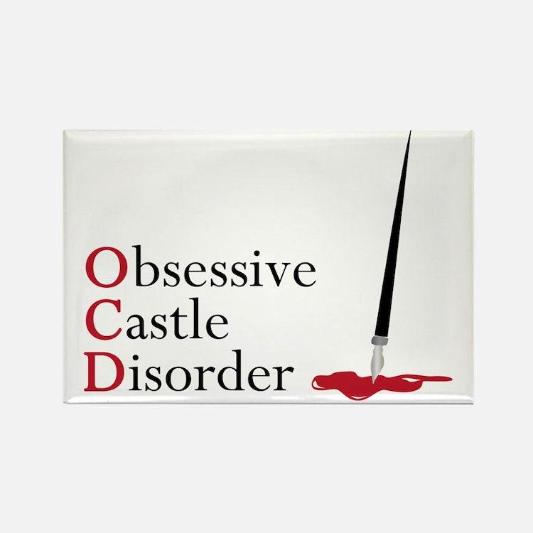 Obsessive Castle Disorder Rectangle Magnet