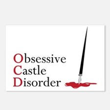 Obsessive Castle Disorder Postcards (Package of 8)