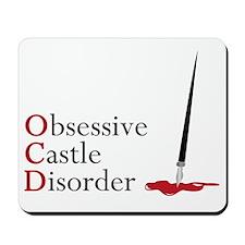 Obsessive Castle Disorder Mousepad