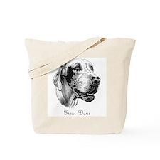 Deaf Dane Tote Bag