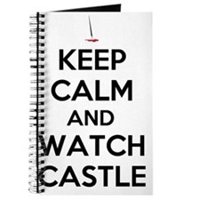 Keep Calm and Watch Castle Journal