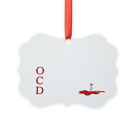 OCD, obsessive castle disorder Picture Ornament