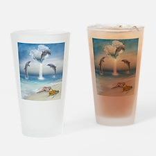 thotd_shower_curtain Drinking Glass