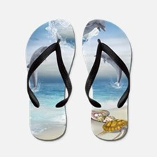 thotd_shower_curtain Flip Flops