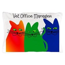 vet office manager Pillow Case