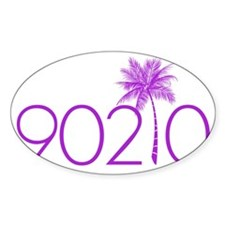 90210 Palm Tree Decal