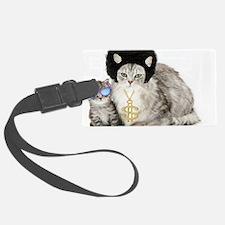Ghetto kitty Luggage Tag