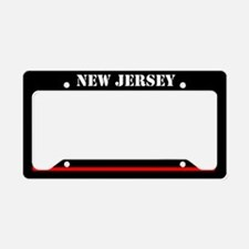 New Jersey Fire And Rescue License Plate Holder