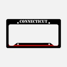 Connecticut Fire And Rescue License Plate Holder