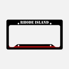 Rhode Island Fire And Rescue License Plate Holder