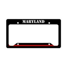 Maryland Fire And Rescue License Plate Holder
