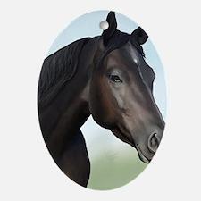 Kellie Digital Painting Oval Ornament