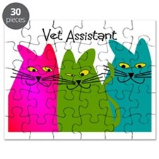 Vet Assistant whim cats Puzzle