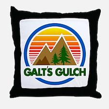 Galts Gulch Throw Pillow