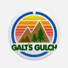 Galts Gulch Round Ornament