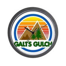 Galts Gulch Wall Clock