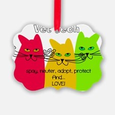 Vet Tech 1 bag Ornament