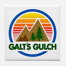 Galts Gulch Tile Coaster