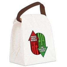 Prices Arent Higher, The Dollar i Canvas Lunch Bag