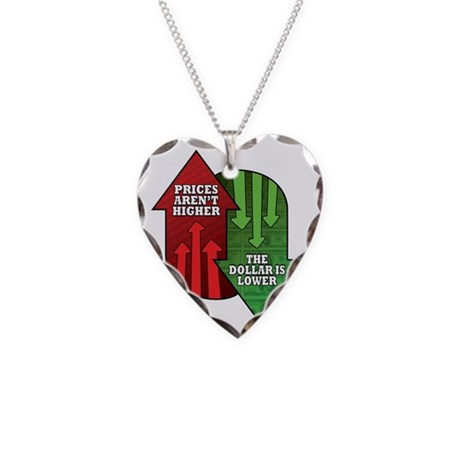 Prices Arent Higher, The Doll Necklace Heart Charm