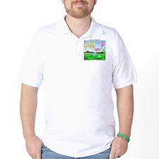 Alligator and Crocodile Cartoon T-Shirt