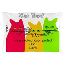 vet tech 1 darks Pillow Case