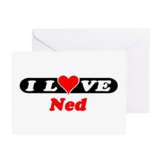 I Love Ned Greeting Cards (Pk of 10)
