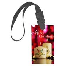 Eastern Star - Masonic Christmas Luggage Tag