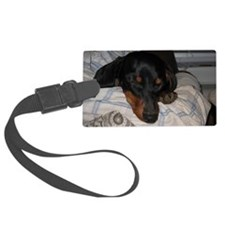 Sleepy Time Luggage Tag