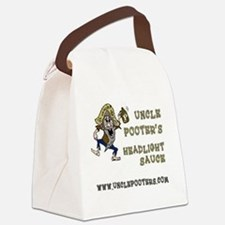 Uncle Pooter's Headlight Sauce Canvas Lunch Bag