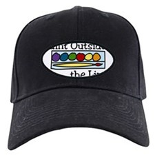 Paint Outside The Lines Baseball Hat