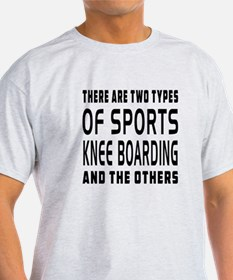 Knee Boarding Designs T-Shirt