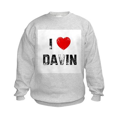 I * Davin Kids Sweatshirt
