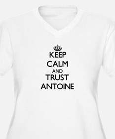 Keep Calm and TRUST Antoine Plus Size T-Shirt
