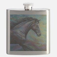 Fuji painting Flask