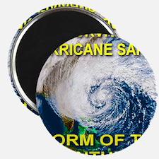 I Survived Hurricane Sandy Storm of the Cen Magnet