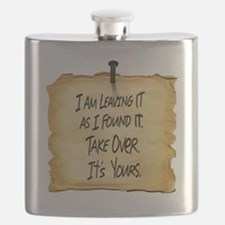 Wyatts Sign Flask