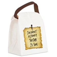 Wyatts Sign Canvas Lunch Bag