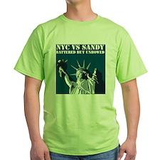 Hurricane Sandy Vs New York City T-Shirt