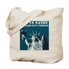 Hurricane Sandy Vs New York City Tote Bag