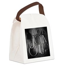 Who is John Galt? Canvas Lunch Bag