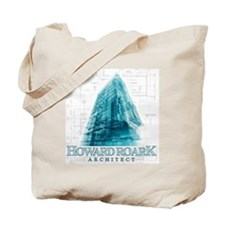 Howard Roark Architect Tote Bag
